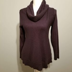 Small Style & Co Purple fitted sweater